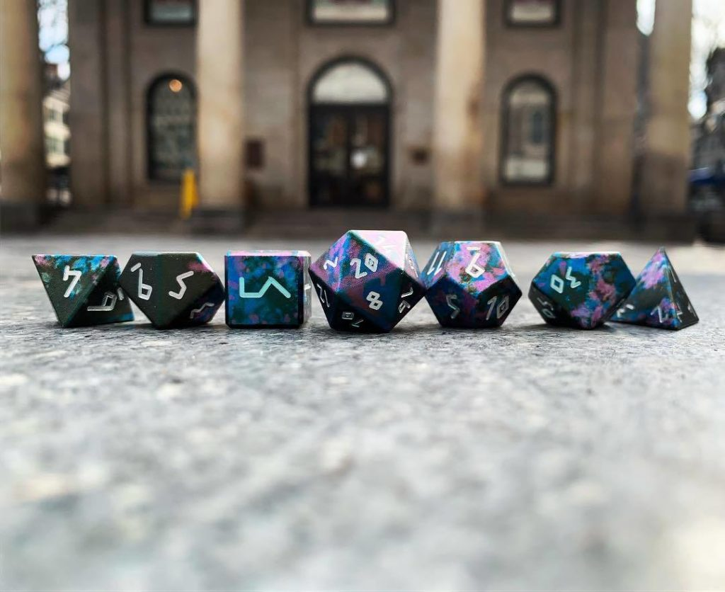 Enchanted Forest Wondrous Dice from Norse Foundry