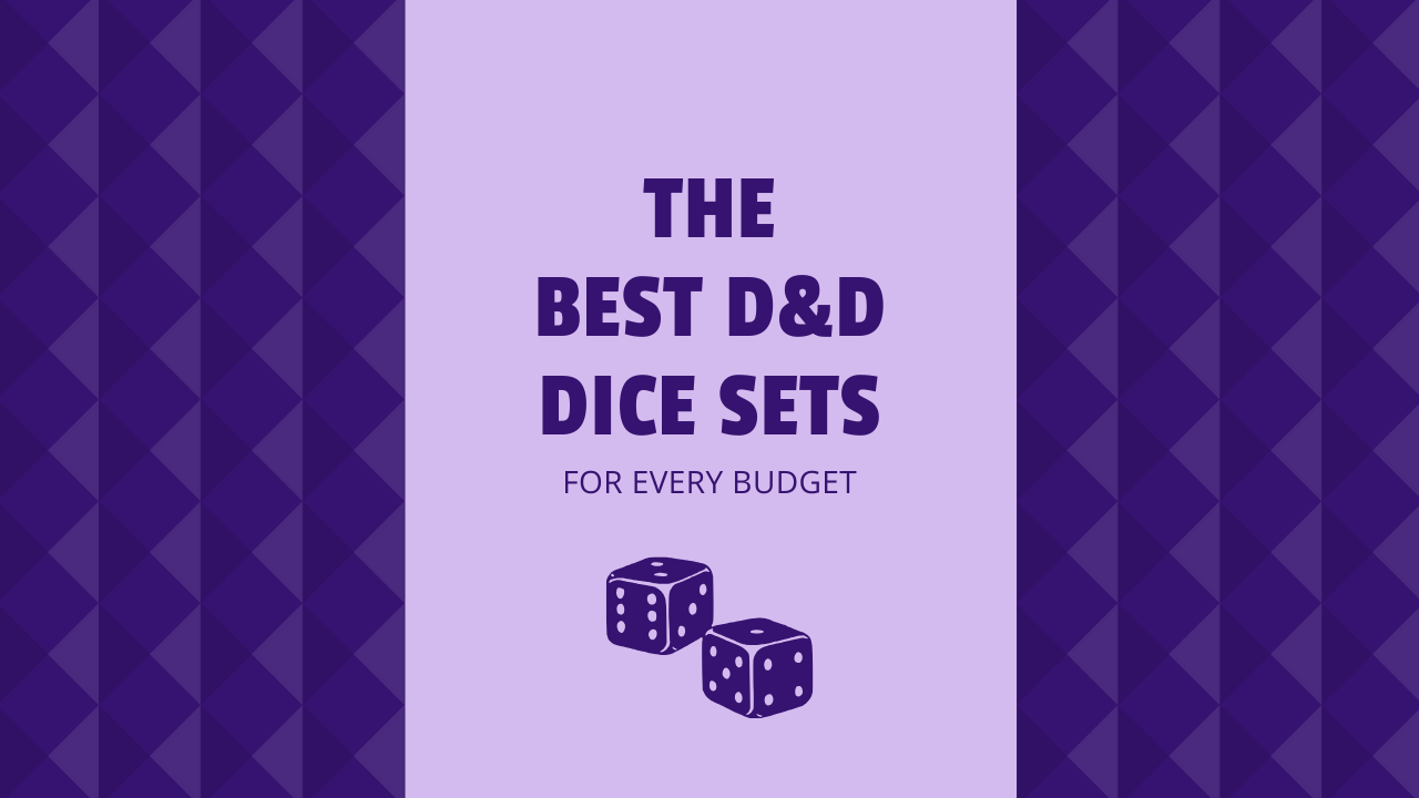 The Best D D Dice Sets For Every Budget Level 1 Geek Click the button, copy the code and it will be copied to your clipboard. the best d d dice sets for every budget