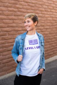Tori Fica, Creator of Level 1 Geek