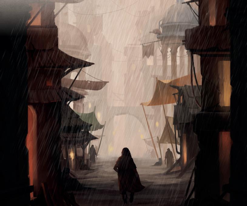 Black Void RPG Artwork