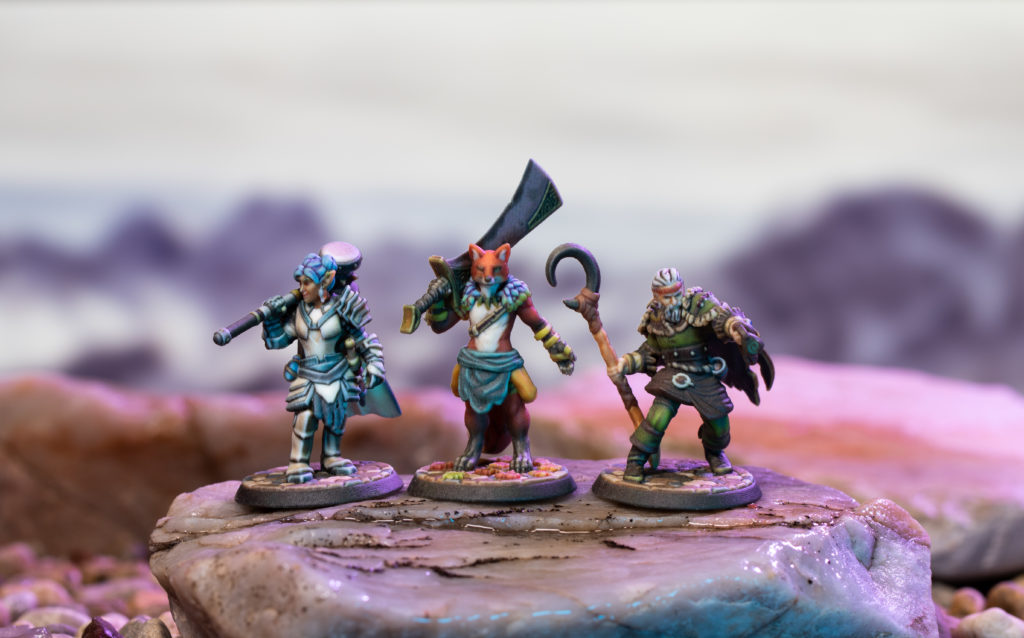 Hero Forge full-color miniatures